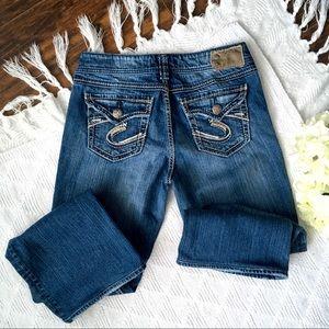 29x34 Suki Surplus Silver Jeans